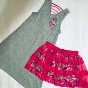 Other - Girls Dress And Skirt Bundle Size 16